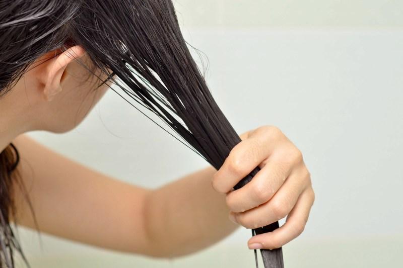 olej z awokado na włosy